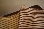 7分袖ボートネックTシャツ